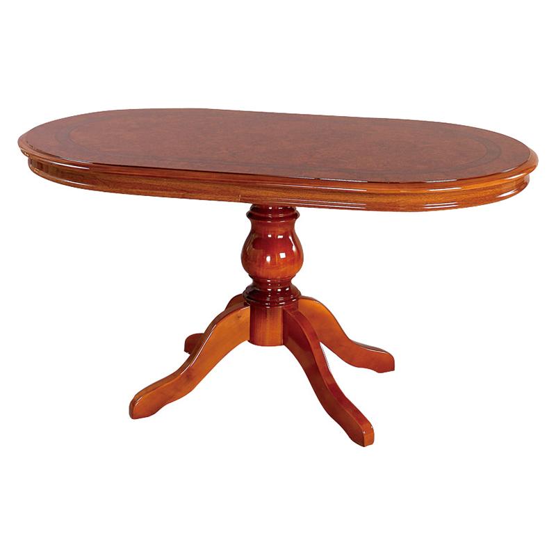 送料無料 開梱設置サービス付き ダイニングテーブル 幅145 奥行85 高さ73cm ラウンドテーブル 木製 フローレンス 食卓テーブル おしゃれ ブラウン 茶 SFLI-518-BR