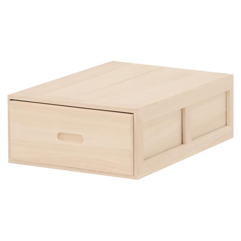 送料無料 3ケースセット チェスト 桐箱 タンス たんす 箪笥 ケース ボックス 収納ケース 木製 衣類収納 桐収納ケース MCH-6321