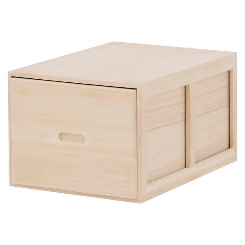 送料無料 3ケースセット チェスト 桐箱 幅39×奥行53.5×高さ30cm タンス たんす 箪笥 ケース ボックス 収納ケース 木製 衣類収納 桐収納ケース MCH-6323