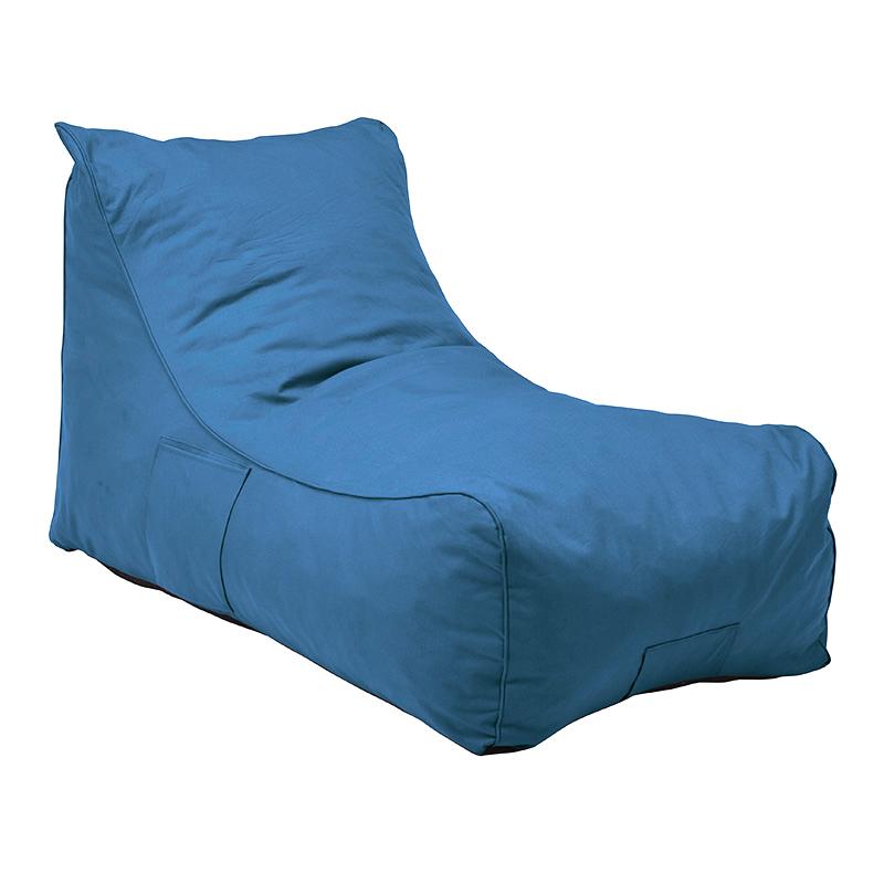 送料無料 クッション 大きい 圧縮ソファ クッションソファ ジャンボ 特大 背もたれ 1人掛け ふんわり おしゃれ かわいい シンプル 一人暮らし リビング 寝室 ブルー グローLG-TB