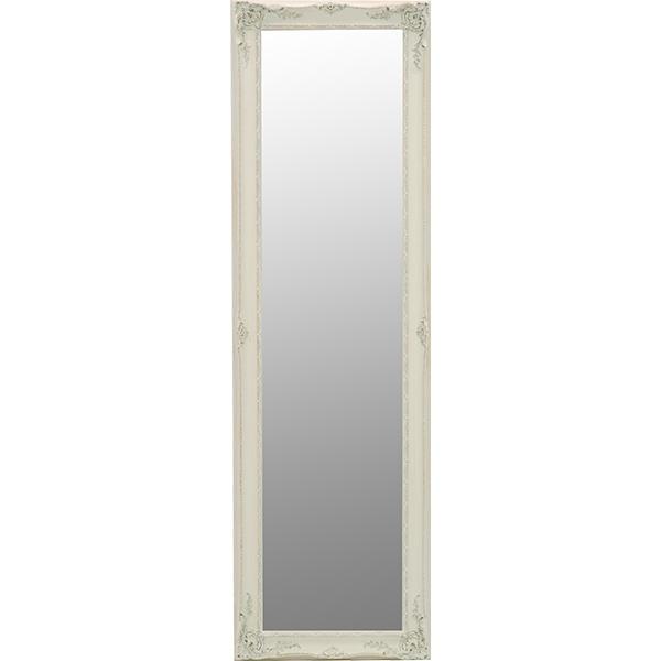 送料無料 装飾アンティーク調ミラー ゴージャス 白 ホワイト 高級感 存在感【MD-7709WH】
