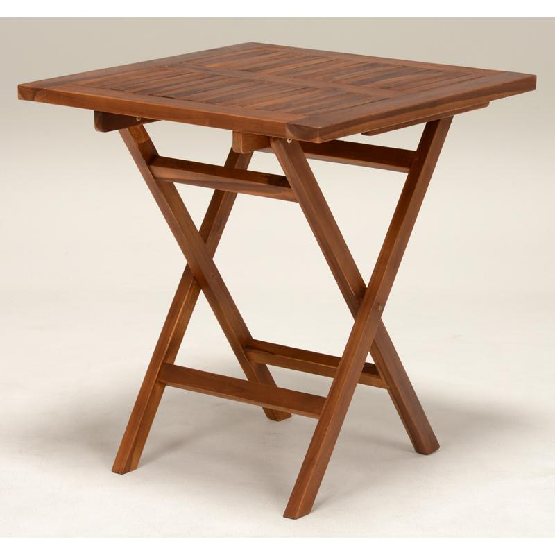 送料無料 ガーデンテーブル 木製 折り畳み 庭 アウトドア ガーデンファニチャー 折りたたみ【RT-1593TK】