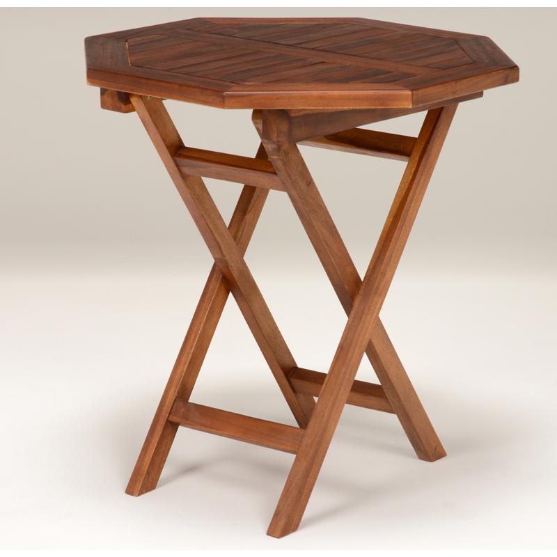 送料無料 ガーデンテーブル 折りたたみ 木製 アウトドア ガーデンファニチャー 折り畳み 庭【RT-1595TK】