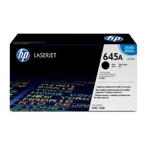 HP C9730A ブラック 純正トナー (Color LaserJet 5500dn/5500, 5550dn/5550対応)【送料無料】