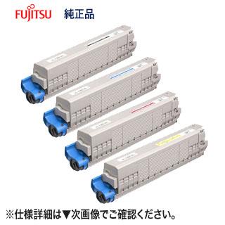 【大容量・4色セット】 富士通 CL116BF 環境共生トナー 純正品 新品 (ブラック・シアン・マゼンタ・イエロー) (FUJITSU Printer XL-C8350 対応) 【送料無料】
