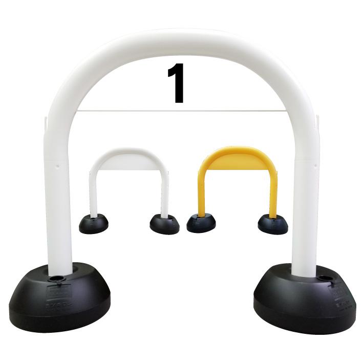 【数字】アーチ看板 駐車場看板 駐車場プレート 駐車場 数字 ガレージ看板 ガレージナンバー ガレージ数字 駐車場ナンバー スタンド看板