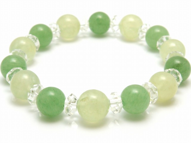 market en bracelet stone store gemstone prehnite natural webshopyamakyo combination stones mm quartz item global yamakyo mens r aventurine rakuten womens