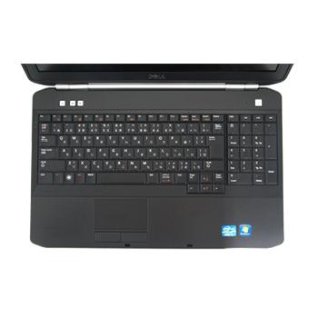 Used personal computer DELL Latitude E5520 Windows7 Pro Core i5 2 5GHz 4GB  500GB DVD multi-recovery disk