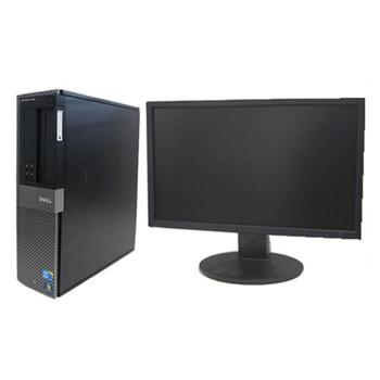 中古パソコン DELL Optiplex 960DT Windows XP Pro Core2Duo 3.0GHz 2GB 80GB DVDマルチ リカバリディスク 22インチワイド液晶 【中古】【デスクトップ】