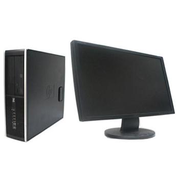 中古パソコン hp 6000Pro SF Windows7 Pro Core2Duo 2.93GHz 4GB 160GB DVD-ROM 24インチワイド液晶 【中古】【デスクトップ】
