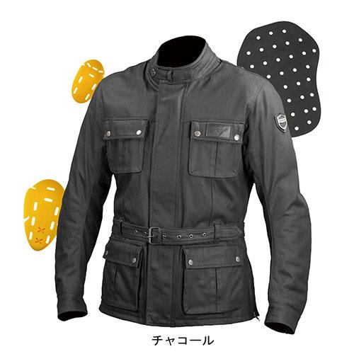 コミネ JK-594 プロテクトウォータープルーフワックスコットンジャケット 07-594