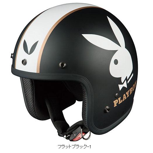 OGK FOLK プレイボーイバイク用ジェットヘルメット