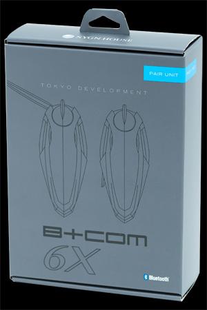 サインハウス 00080216 B+COM(ビーコム)ワイヤレス インカム SB6X ペアUNIT