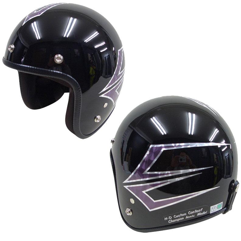 ☆送料無料☆CUSTOM 72JAMJET SpindleMB(ミッドナイトブラック)ジェットヘルメット