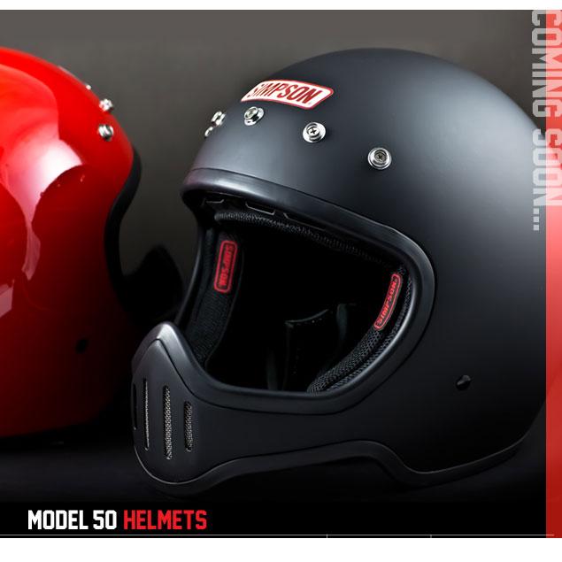 シンプソン M50 MODEL50SIMPSON MODEL50 フルフェイスヘルメット