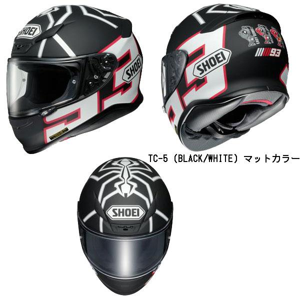 SHOEI  Z-7 MARQUEZ BLACK ANT (ゼット-セブン マルケス ブラック アント)フルフェイスヘルメット