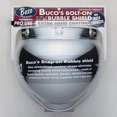 BUCOボルトオンバブルシールドWITH シールドコンバータークロームミラー