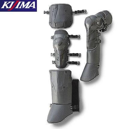 KISS RACING K290221オールシーズン対応 可動式膝プロテクター左右セット