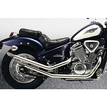 ☆マフラーガスケットプレゼント☆マルチレーシング DRAG-2アメリカン ドラッグパイプマフラーSTEED400/600