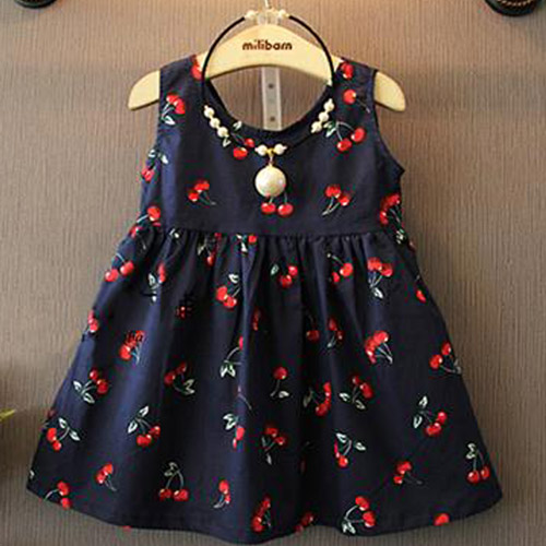1b47f416065953 Kids clothes kids clothes girls sleeveless dress colorful simple solid  pleated top-selling 02P01Oct16