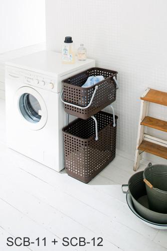 Stackable Laundry Baskets Best Rabeans Rakuten Global Market Scandinavianstyle Stacking