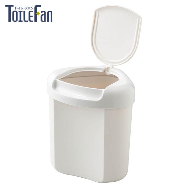 コーナーポット トイレポット トイレ用品 ごみ入れ 大きめ お値打ち価格で サニタリーボックス 日本製 ホワイト トイレファン 大型コーナーボックス 2020モデル 角に収まる三角形