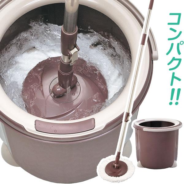 モップ 水拭き 掃除 販売 フローリング 水切り 絞れる 丸型 買物 拭き掃除 セット TSM545 トルネード回転モップ 床