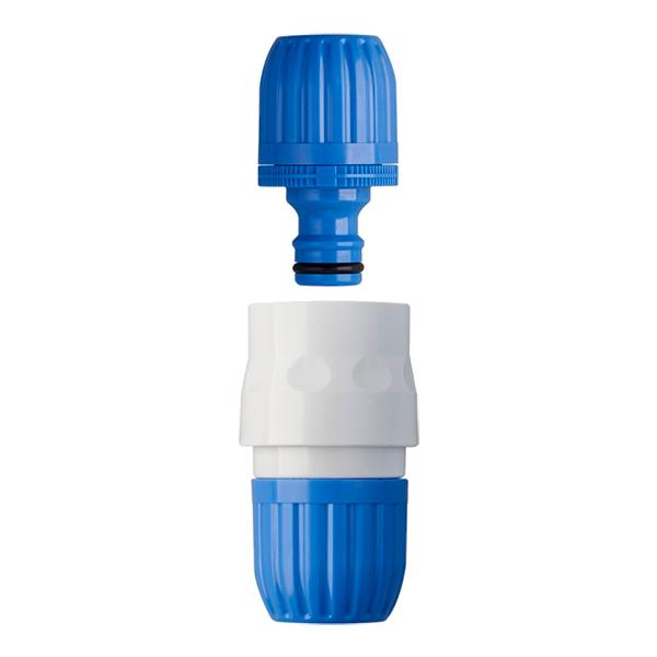散水用品 売買 散水ホース 接続 人気海外一番 つなぐ ワンタッチ ジョイント タカギ ホース接続パーツ ブルー QG039FJ パチットホースジョイント