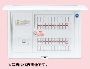 (キャッシュレス5%還元)パナソニック BQE87382B3 住宅分電盤 エコキュート・電気温水器・IH対応 リミッタースペースなし 38+2 75A