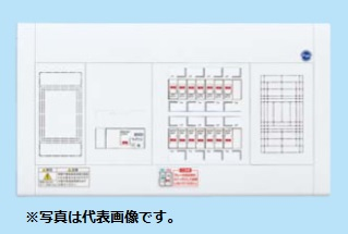 (キャッシュレス5%還元)パナソニック BQWF37222 住宅分電盤 フリースペース付 リミッタースペース付 22+2 75A