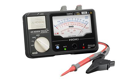 (キャッシュレス5%還元)日置電機 HIOKI IR4033-10 3レンジアナログメガー