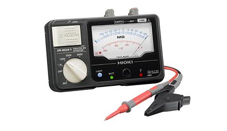 (キャッシュレス5%還元)日置電機 HIOKI IR4041-11 4レンジメガー(スイッチ付)