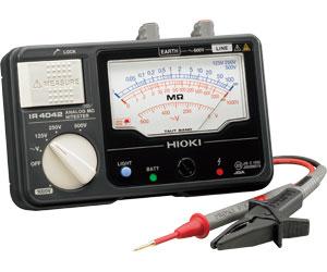 (キャッシュレス5%還元)日置電機 HIOKI IR4042-10 4レンジアナログメガー
