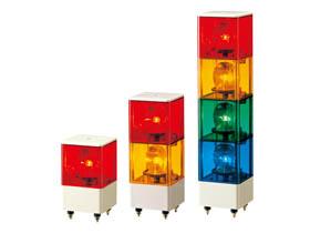 パトライト PATLITE KJB-220-RY 積層回転灯 赤・黄