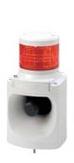(キャッシュレス5%還元)パトライト PATLITE LKEH-102FA-R LED信号灯付電子音報知器 赤