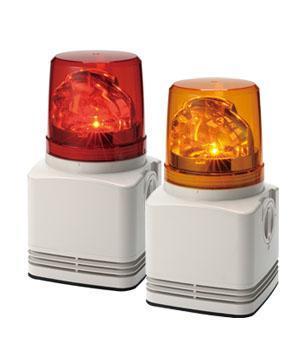 パトライト PATLITE RFT-100A-R 電子音内蔵LED回転灯 赤
