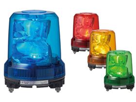 パトライト PATLITE RLR-M2-Y 強耐振大型パワーLED回転灯 黄