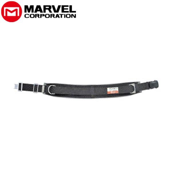 (キャッシュレス5%還元)マーベル MARVEL 柱上安全帯用ベルトワンタッチバックル 左利き用 MAT-170WBC 黒 MAT170WBC
