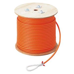 (キャッシュレス5%還元)マーベル MARVEL 通線・入線工具 ハンガーけん引ロープ φ10(φ8テトロンクロスロープ)100m 12本打 R-1010PE