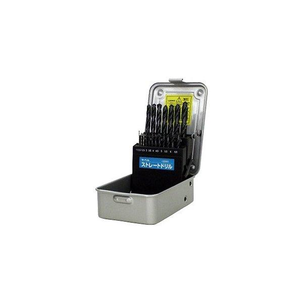 (キャッシュレス5%還元)マーベル MARVEL 切削工具 ストレートドリルセット 一般鉄鋼用 SDSET-19