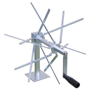 (キャッシュレス5%還元)ジェフコム デンサン 電設作業工具 ラインスケールカウンター ケーブル巻取り器 CMR-200