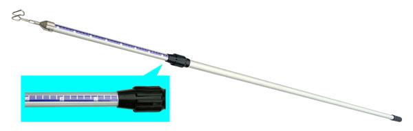 (キャッシュレス5%還元)ジェフコム デンサン 電設作業工具 アルミメジャーフィッシャー DAF-3300MJ