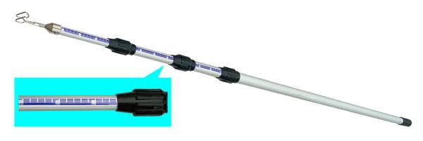 (キャッシュレス5%還元)ジェフコム デンサン 電設作業工具 アルミメジャーフィッシャー DAF-6000MJ