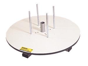 (キャッシュレス5%還元)ジェフコム デンサン 電設作業工具 ワイヤーターンテーブル(ドラマワール300セット・DR-655+DRT-800) DRT-655T