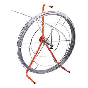 (キャッシュレス5%還元)ジェフコム デンサン 電設作業工具 シルバーグラスライン パイプクリーナーセット GL-CS-0703