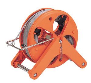 (キャッシュレス5%還元)ジェフコム デンサン 電設作業工具 ハンディーマジックリール HMR-4000