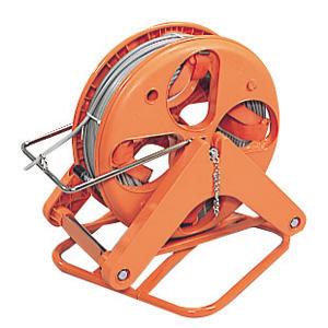 (キャッシュレス5%還元)ジェフコム デンサン 電設作業工具 ハンディーマジックリール 回転補助台付セット HMR-4000K
