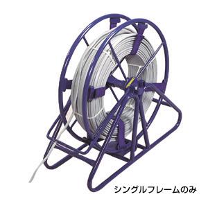 (キャッシュレス5%還元)ジェフコム デンサン 電設作業工具 マジックリール(シングルタイプ) シングルフレーム MRF-4802