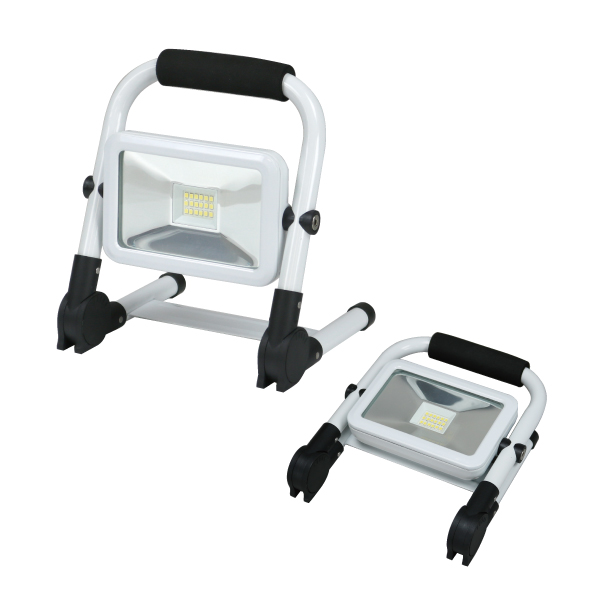 (キャッシュレス5%還元)ジェフコム デンサン PDSB-05010S LED投光器(充電タイプ)