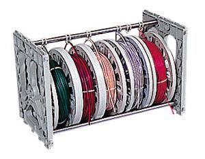 (キャッシュレス5%還元)ジェフコム デンサン 電設作業工具 プラマジックリール アンダーロール小(5連) PM-SU5